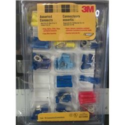 New 3m Assorted Electrical Connectors