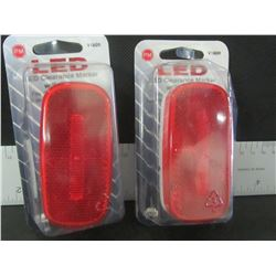 Set of 2 LED Clearance markers