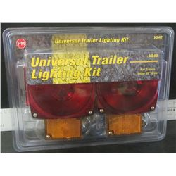 "Universale Trailer lighting kit / for trailers under 80"" wide"