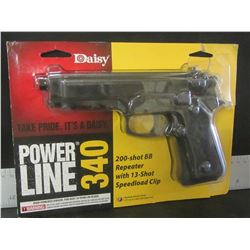 Daisy Power Line 340 / 200 shot BB repeater with 13 shot speedload clip