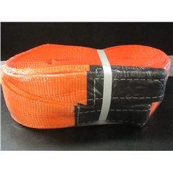 """New 4"""" x 30 ft 9 ton 18,000 lb Tow Strap/ will not rot or tear in extreme conditions"""