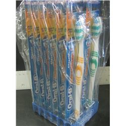 1 Dozen Oral-B Toothbrushes factory sealed / classic soft