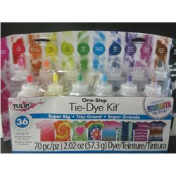 One step Tie-dye kit 70 piece / up to 36 projects