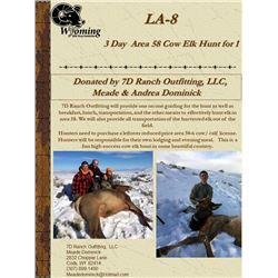Wyoming Cow Elk Hunt with Meade Dominick