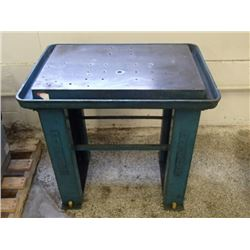 "Heavy Duty Steel Work Table, Overall: 35"" x 25"" x 35"""