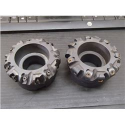 """Ingersoll 3.5"""" Indexable Face Mills, P/N: 6W6W094R10"""