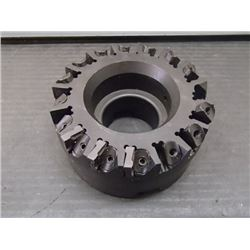 """Valenite 4"""" Indexable Face Mill, P/N: VFQF90SD0400K16R"""