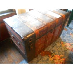 Vintage Stage Coach Trunk