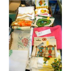 New and Vintage Linens