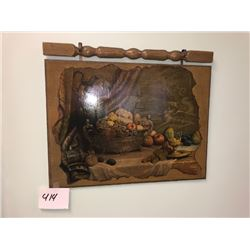 Medieval Still Life / Dragon Slayer / Hanging Artwork