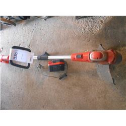 "Bundle Lot / Black & Decker Electric Trimmer / ""Golden Boy"" Edger"