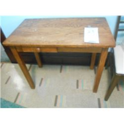 Vintage Oak Youth's Desk (Small)