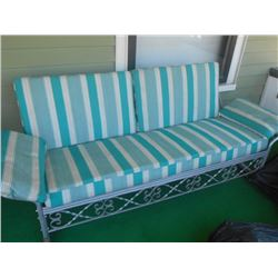 Vintage Porch Glider/Alum Condition -Good