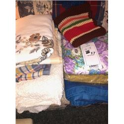 Asstd. Blankets x7NEW OR  LIKE NEW