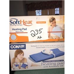 Heating Pads x2, In Box NEW