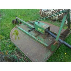 "John Deere 60"" Brush Hog Model 506/ Works !!"