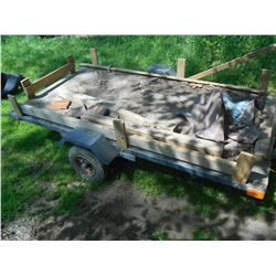 Ball Hitch 8 Ft. Utility Trailer