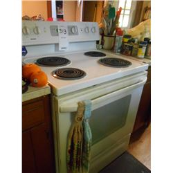 Kenmore Electric Stove Works