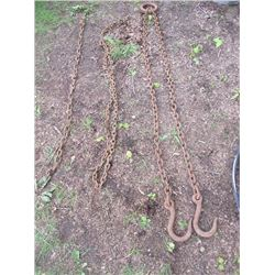 Log Chains w/ Grappling Hooks