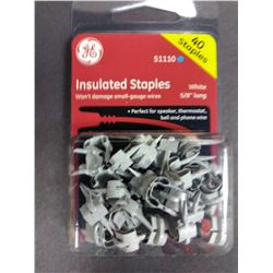GE 40 Ct Insulated Staples $5.49