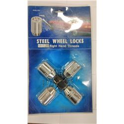 KH-85-202 Steel Wheel Lock Sets $9.99