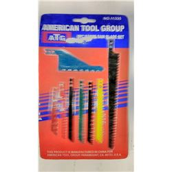 8 Pc Saber Saw Blade Set 11335 $7.99