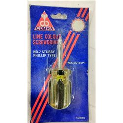 Cobra #2 Phillips Screwdriver