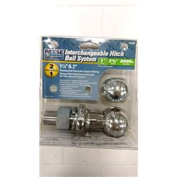 Reese 1 7/8 & 2   Interchangeable Hitch Ball System $19.99