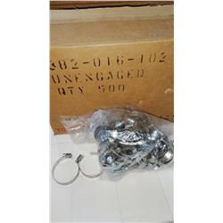 1.5 Inch Stainless Steel Hose Clamps