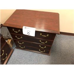 Executive side table (matches lot 6 and 7)