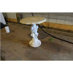 Decorative outdoor table