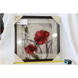 Red poppy picture