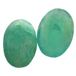 4.28 ctw Oval Mixed Emerald Parcel