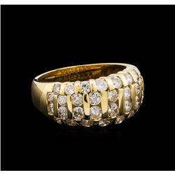 1.75 ctw Diamond Ring - 14KT Yellow Gold