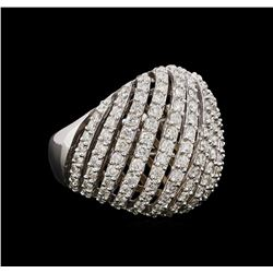 14KT White Gold 1.82 ctw Diamond Ring