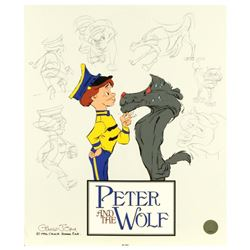 Peter and the Wolf: Character Sketches by Chuck Jones (1912-2002)
