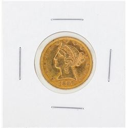 1897 $5 Liberty Gold Coin CU