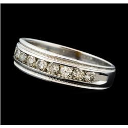 1.00 ctw Diamond Ring - 10KT White Gold