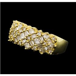 1.47 ctw Diamond Ring - 14KT Yellow Gold