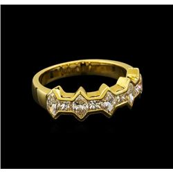 14KT Yellow Gold 1.62 ctw Diamond Ring