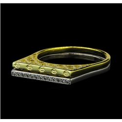 CZ Ring - Gold Plated
