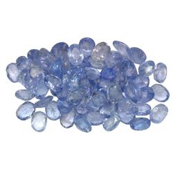 11.16 ctw Oval Mixed Tanzanite Parcel