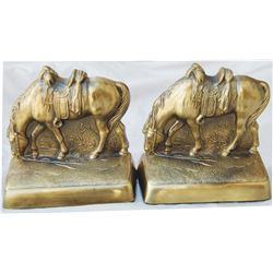 bronze 40-50's bookends