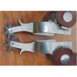 Buermann etched monel spurs