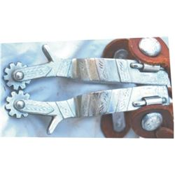 Crockett Renalde overlaid spurs