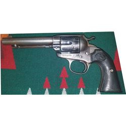 """Colt Bisley .44-40 Frontier 6 shooter 5 1/2"""" barrel, All matching numbers #250405, mfg 1904"""