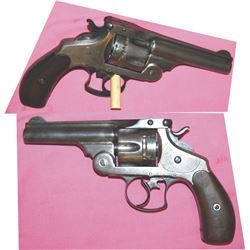 Smith & Wesson Frontier model .44 pistol mfg 1882