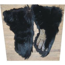 bear hide gloves