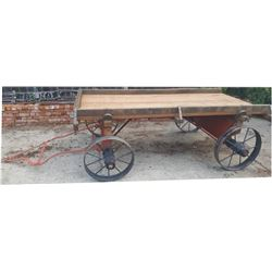 small steel wheel wagon