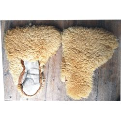 wool stage or wagon drivers mittens